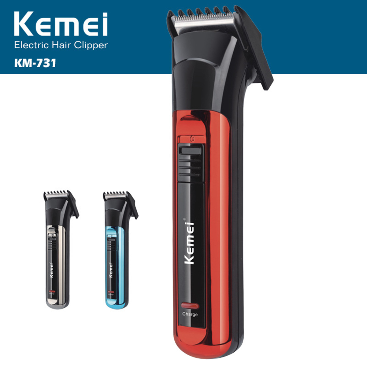 pro rechargeable battery electric mini hair clipper beard. Black Bedroom Furniture Sets. Home Design Ideas