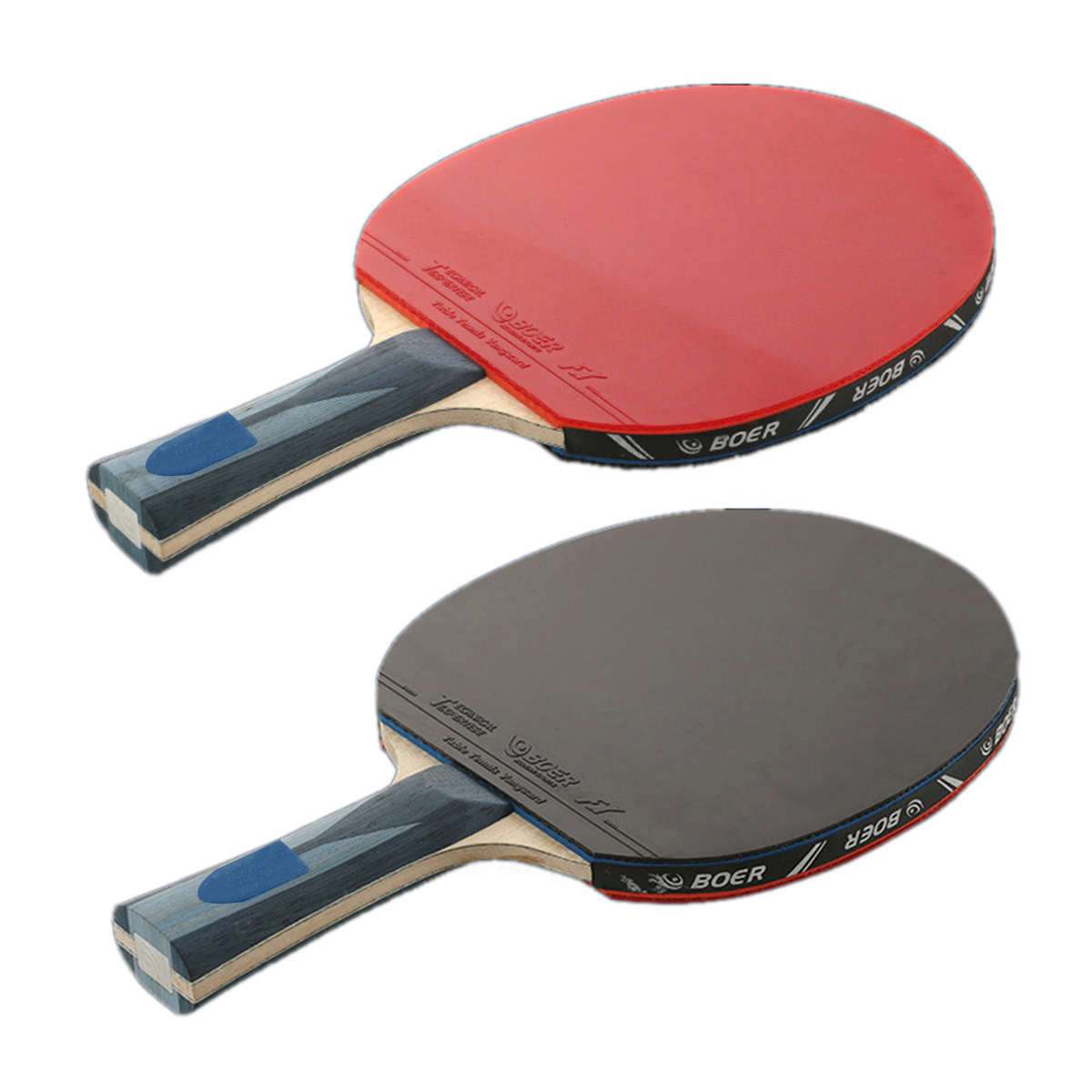 1pc Pro Carbon Table Tennis Racket Ping Pong Paddle Long